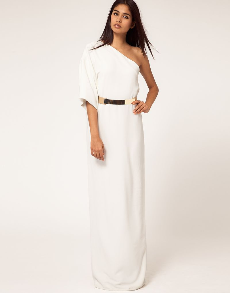 White Maxi Dresses For Weddings